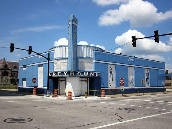 Evansville Greyhound Terminal
