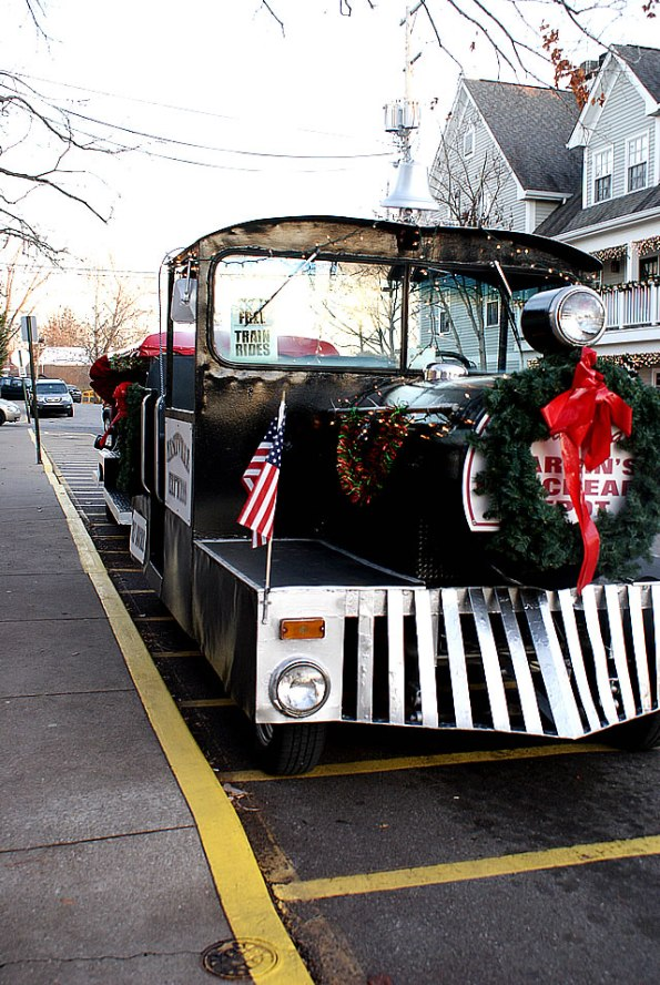 Nashville Express Holiday Train in Brown County