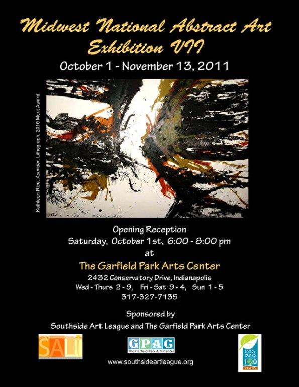Abstract Art Exhibition at Garfield Park Arts Center