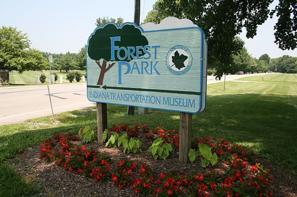 Forest Park in Noblesville, Indiana.