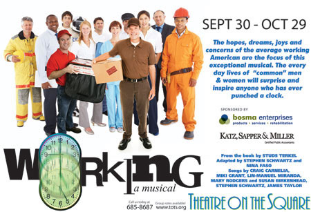 Working...a musical at Theatre on the Square