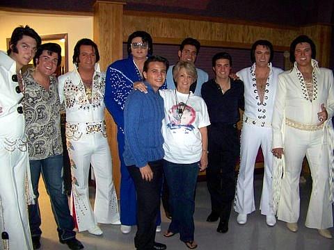 Elvis FANtasy Fest Contestants