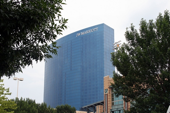 JW Marriott in downtown Indianapolis.