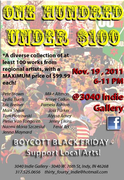 100 Under $100 Exhibit and Sale