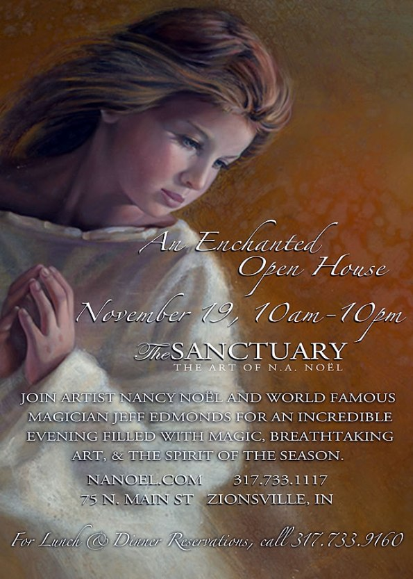 Open House at The Noel Sanctuary, Nov. 19