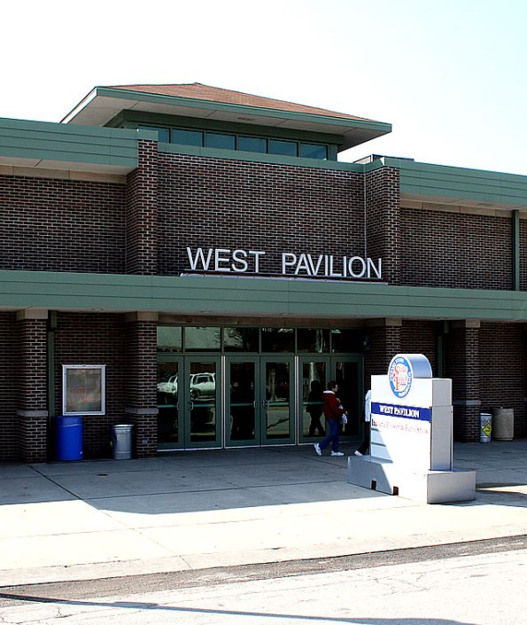 West Pavilion at the State Fairgrounds