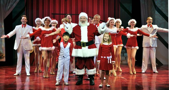 """""""A Beef & Boards Christmas"""" at Beef & Boards Dinner Theatre."""