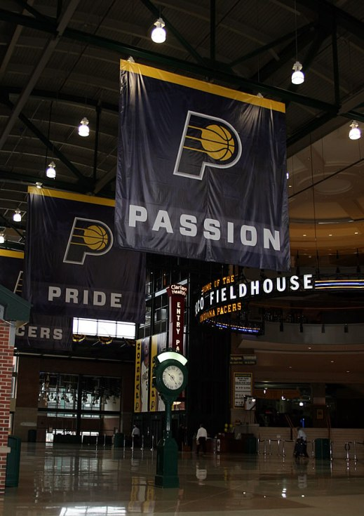 Conseco Fieldhouse Lobby