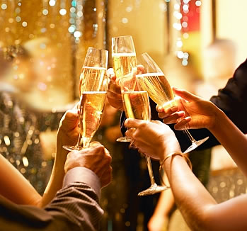 New Year's Eve at the Hyatt Regency Hotel