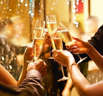 New Year's Eve at the Hyatt Regency Hotel