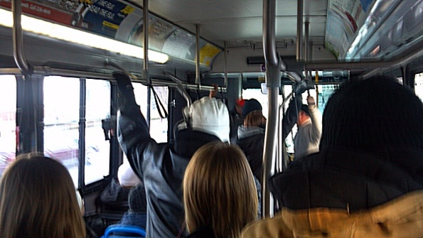 Standing Room Only on IndyGo Route #8