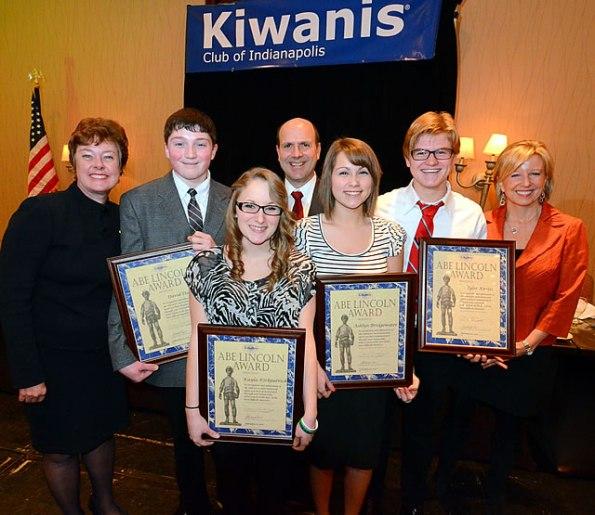 Abe Lincoln Award Recipients