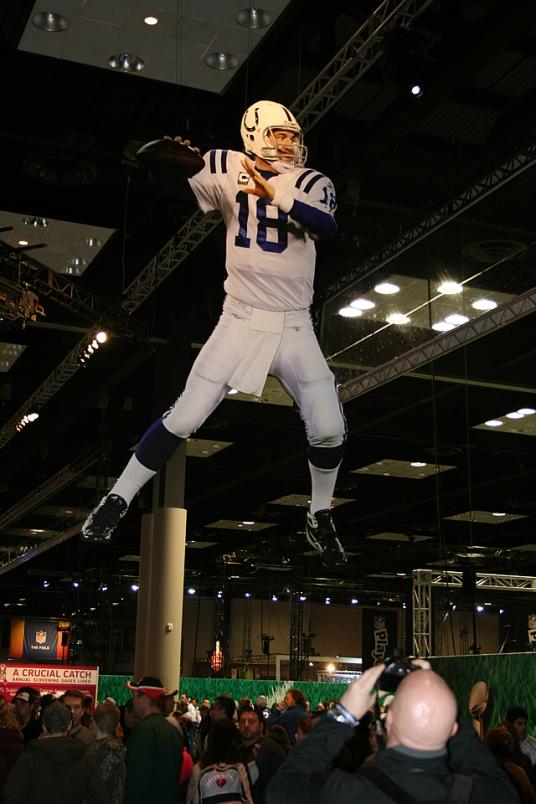 Peyton Manning at the NFL Experience