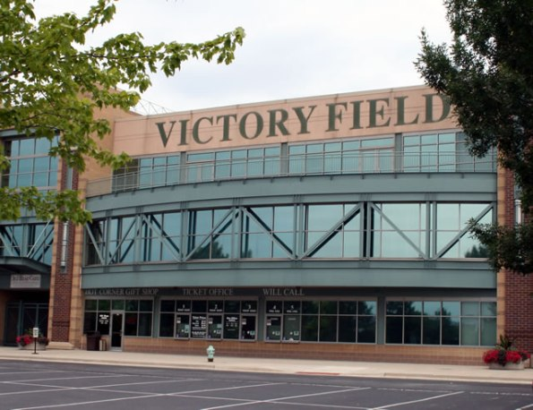 Victory Field, home of the Indianapolis Indians