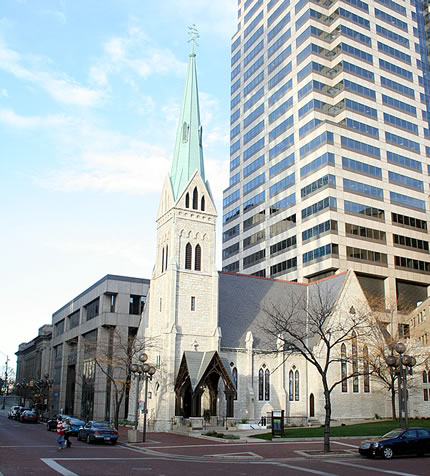 Christ Church Cathedral on Monument Circle