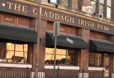 Claddagh Irish Pub in downtown Indianapolis