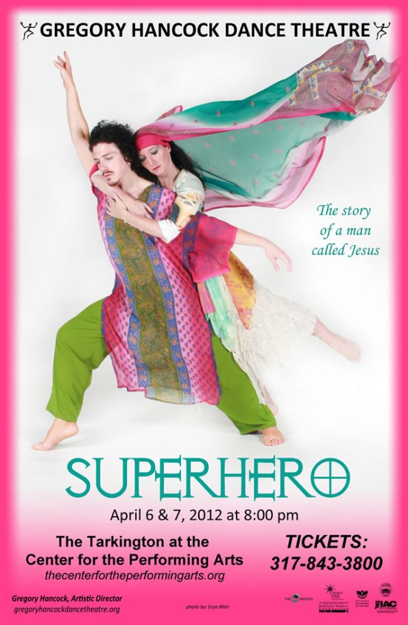 """Superhero"" by Gregory Hancock Dance Theatre, Apr. 6-7"