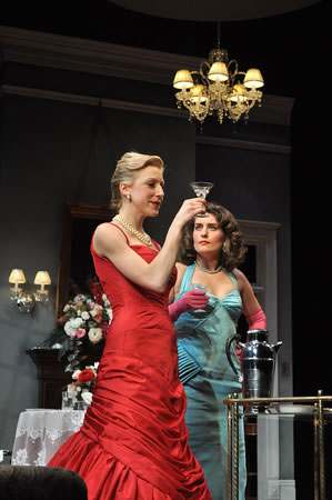 """""""Fallen Angels"""" at the Indiana Repertory Theatre."""