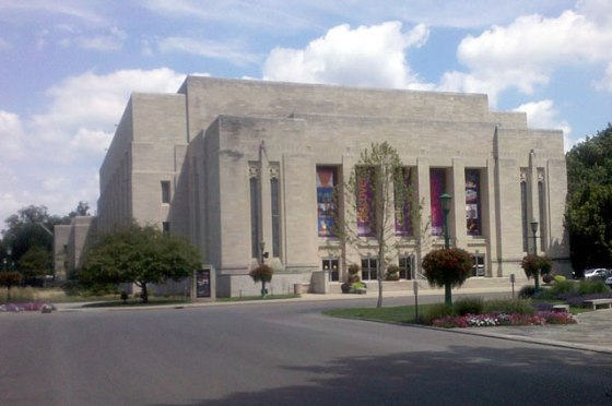 IU Auditorium in Bloomington.