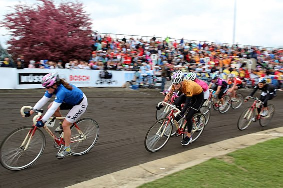 Little 500 Women's Bike Race at Indiana University
