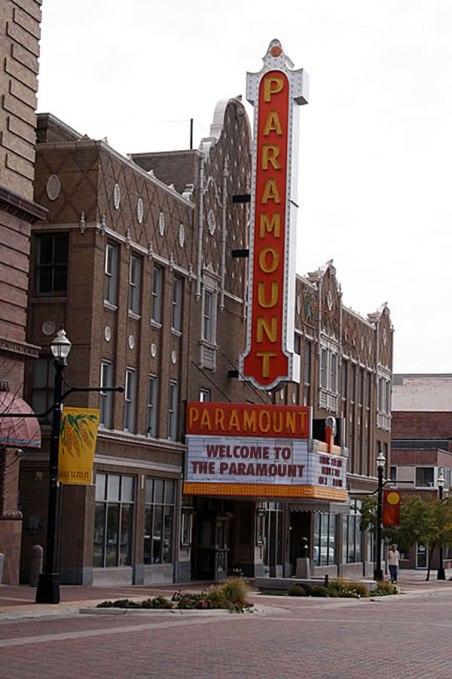 Paramount Theatre in Anderson
