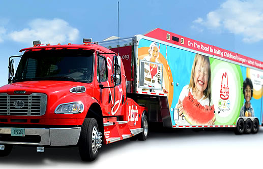 Arby's Hungry for Happiness Truck.