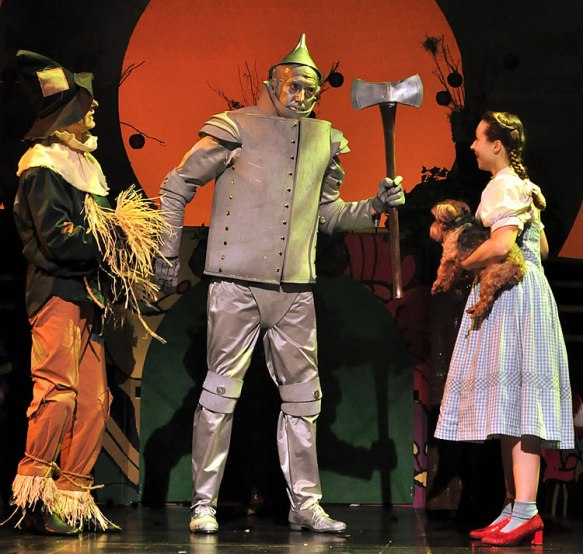 """The Wizard of Oz"" at Beef & Boards Dinner Theatre."