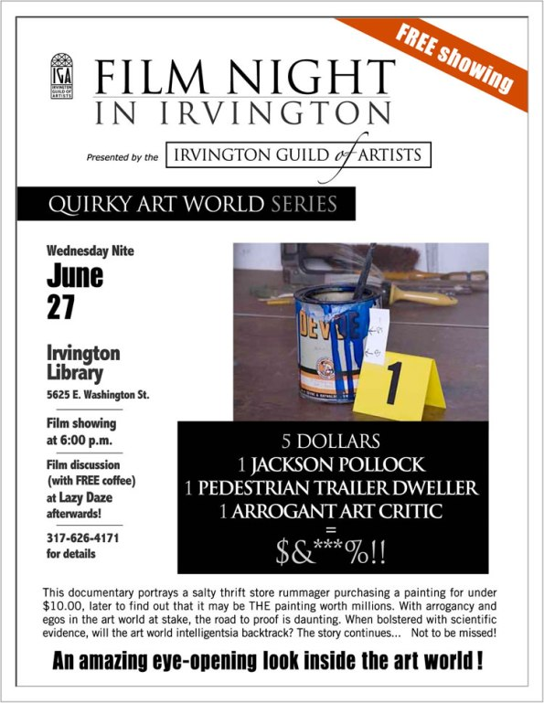 Quirky Art World Film Series
