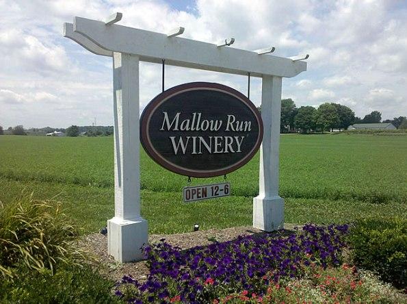 Mallow Run Winery in Johnson County.
