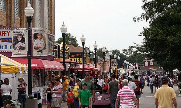 Indiana State Fair, Aug. 3-19.