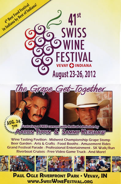 Swiss Wine Festival in Vevay.