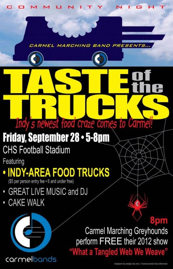 Taste of the Trucks in Carmel, Sept. 28