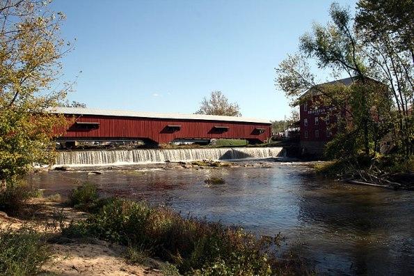 Bridgeton Covered Bridge in Parke County