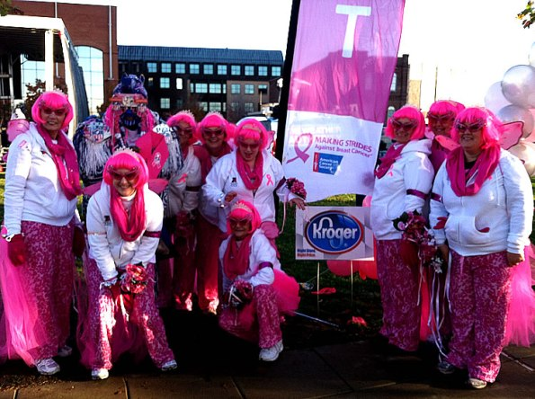 At the Making Strides Event on Oct. 20, 2012