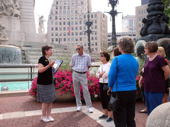 Monument Circle Walking Tour