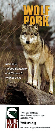 Wolf Park in Tippecanoe County