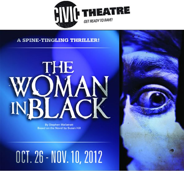 """""""The Woman in Black"""" at Booth Tarkington Civic Theatre"""