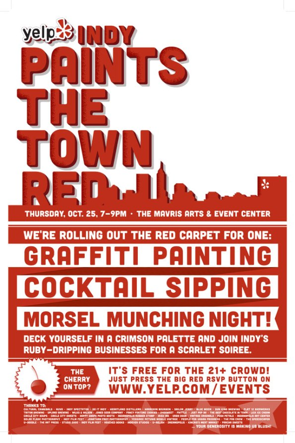 Yelp Paints the Town Red