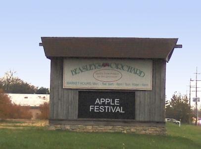 Beasley's Orchard in Danville