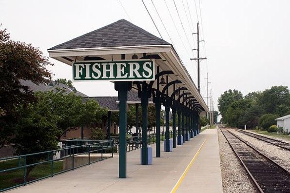 Polar Bear Express at Fishers Train Station