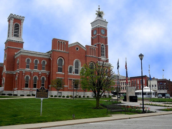 Decatur County Courthouse in Greensburg, IN