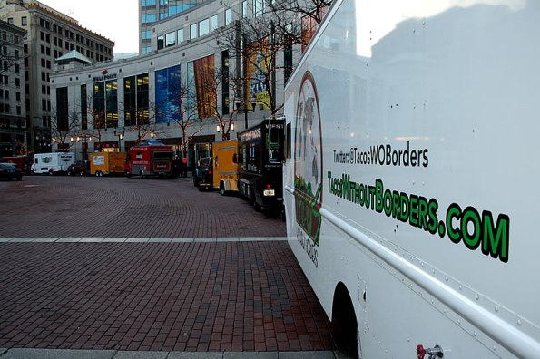 Food Truck Rally on Monument Circle