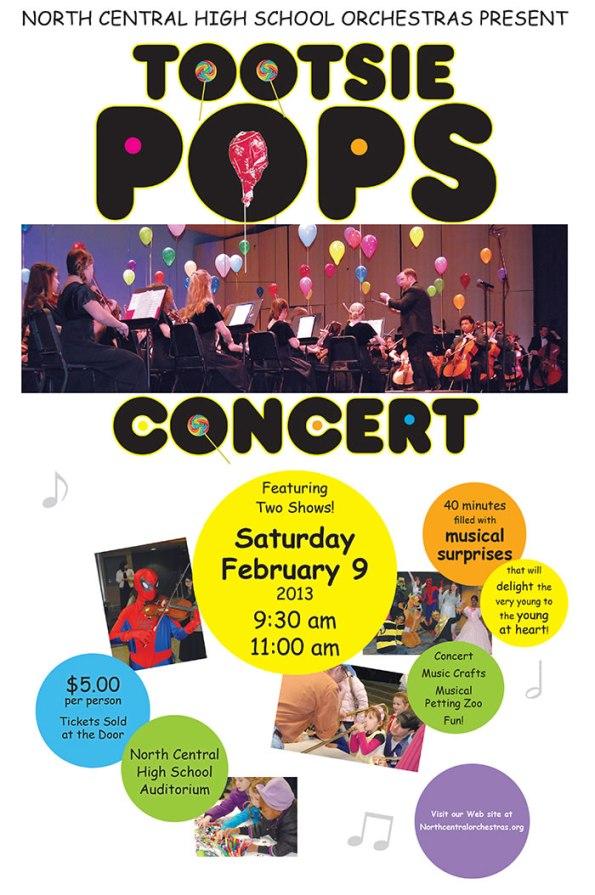 Tootsie Pops Concert
