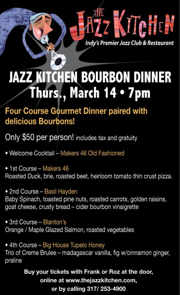 Jazz Kitchen Bourbon Dinner