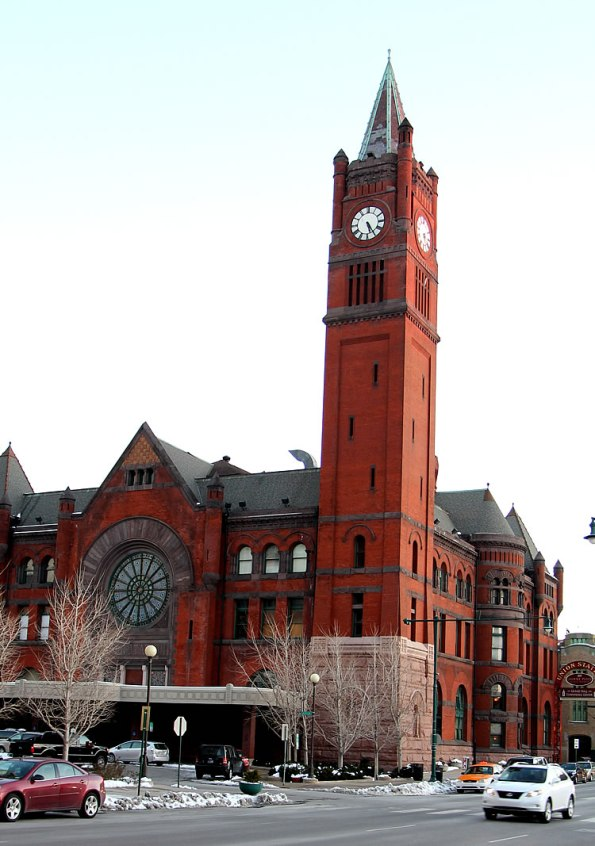 Historic Union Station in Downtown Indianapolis.