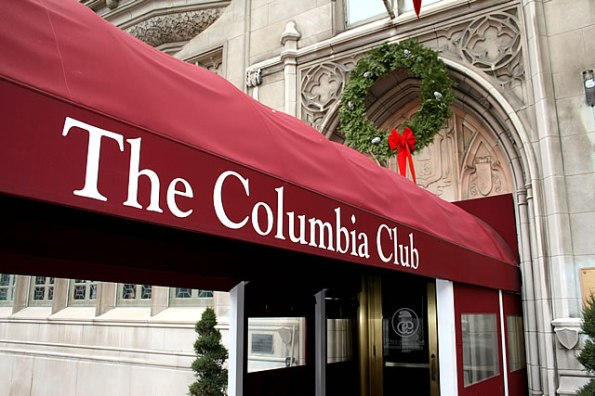 The Columbia Club on Monument Circle