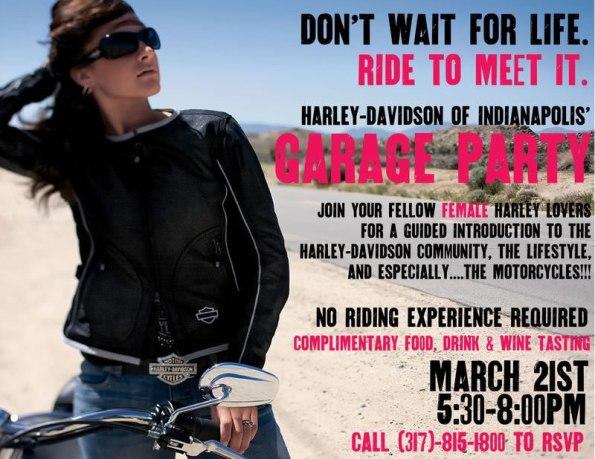 Garage Party at Harley-Davidson of Indianapolis