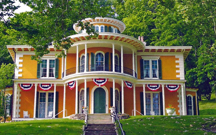 Hillforest victorian house museum open in aurora around indy House aurora