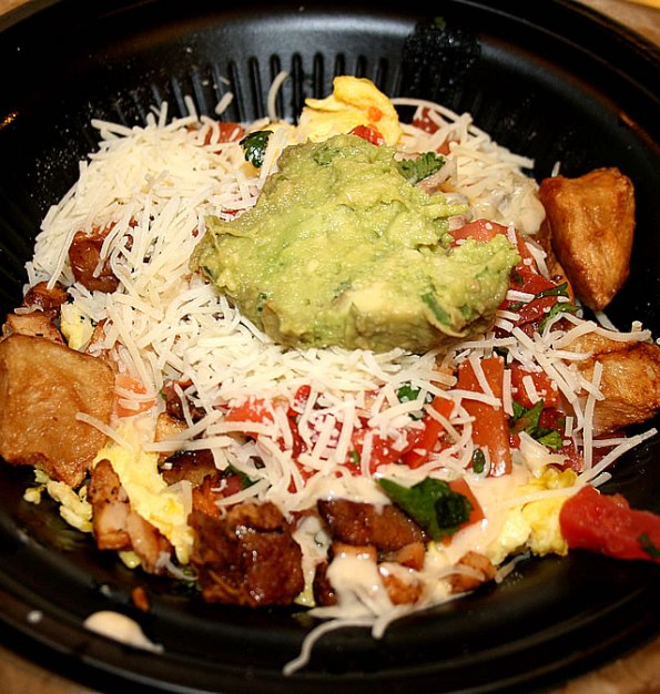 Qdoba Breakfast Bowl