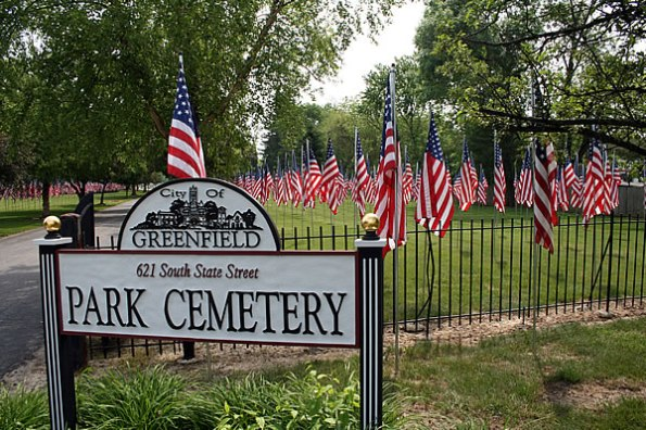 Park Cemetery in Greenfield, Indiana